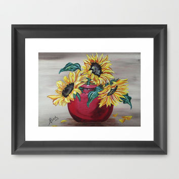"""You Are My Sunshine"" Framed Art Print by Angie's Dreamworks   Muskoka.gal@rogers."