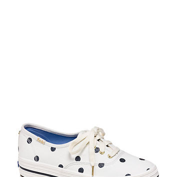 keds for kate spade new york triple kick sneakers