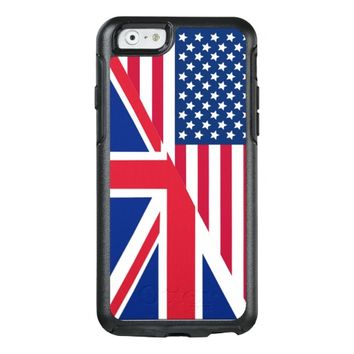 American and Union Jack Flag OtterBox iPhone 6/6s Case