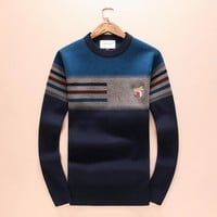 GUCCI tide brand men and women casual cashmere sweater F-A00FS-GJ