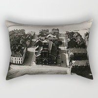Vintage Calais Photo 1944 Rectangular Pillow by Christine Aka Stine1