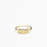 Gorjana Womens Xoxo Ring - Gold,