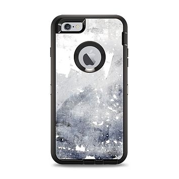 The Grunge White & Gray Texture Apple iPhone 6 Plus Otterbox Defender Case Skin Set