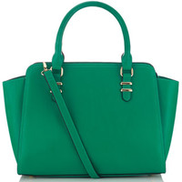 Georgia Winged Handheld Bag | Green | Accessorize