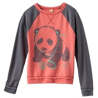 Mudd Panda Active Sweatshirt - Girls 7-16