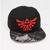 Shadow Link Snapback Hat - The Legend Of Zelda - Spencer's