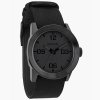 Nixon The Private Watch All Black One Size For Men 24944510001