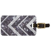 Sprakly Chevron Luggage Tag
