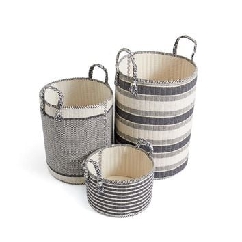 Set of Three Georgia Baskets