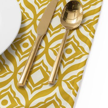 Heather Dutton Trevino Yellow Placemat