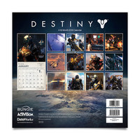 Destiny 2016 Wall Calendar