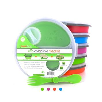Collapsable Eco Meal Kit (Round 2 Compartment)