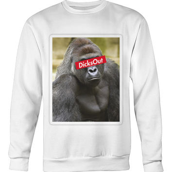"""""""Dicks Out"""" Harambe Sweater"""