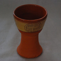 Unique Medieval set of goblets for drinking wine or mead, presented in a special box with silk padding
