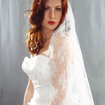 Allover Lace Veil