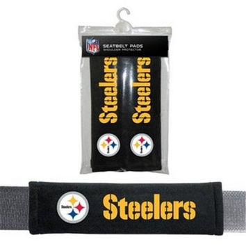 Pittsburgh Steelers Official NFL Seat Belt Pads