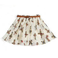 Women's Best Selling Retro High Waist Pleated Skirt In 11 Colors/Styles!