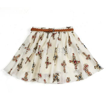 11 Colors/Styles! 2015 Best Selling Retro High Waist Pleated Skirt