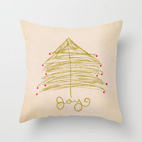 Joy Throw Pillow by Sandra Arduini | Society6