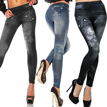 Butterfly Star Stretch Jeggings