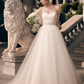 Casablanca Bridal 2177 Tulle Wedding Dress