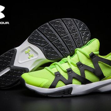 Under Armour New Unisex Charged Phenom 2 Running Shoes Breathable Mesh Men Athletic Shoes Super Light Outdoor Men Sport shoes