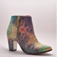Val Tek Cosmic Marble Ankle Boots by Miista | Edge of Urge