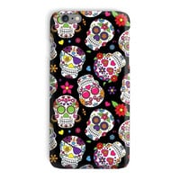 Day of the Dead Sugar Skull Phone Case - iPhone 6, 6s, 5 and Samsung Galaxy S7, S6 Edge Case