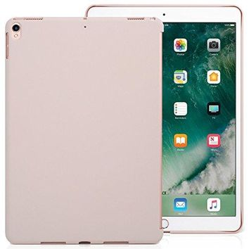 iPad Pro 10.5 Inch Pink Color Case - Companion Cover - Perfect match for Apple Smart keyboard and Cover