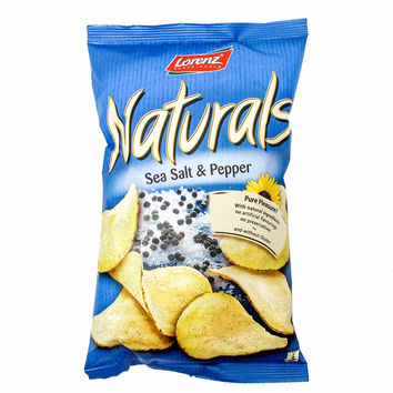 Lorenz Naturals Potato Chips with Sea Salt and Pepper, 3.5 oz (100 g)