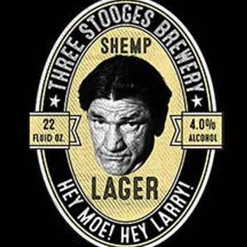 SHEMP LAGER hoodie  the three stooges hooded  licensed hoodie sweatshirts hoodies movies hoody the stooges