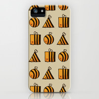 BEE DIFFERENT iPhone & iPod Case by Huebucket