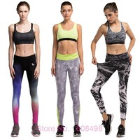 Women Compression Pants Elastic Wicking Exercise Sports Female Fitness Exercise Running Jogging Jogger Trousers Gym Slim pants