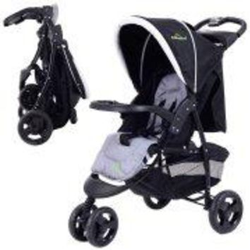 3 Wheel Foldable Baby Kids Travel Stroller