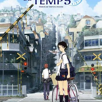 The Girl Who Leapt Through Time (French) 11x17 Movie Poster (2006)
