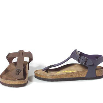 Birkenstock Comfort Thong Sandals with Backstrap - A106216 — QVC.com