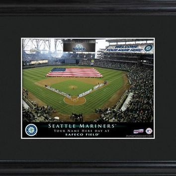 Personalized MLB Stadium Print - Mariners