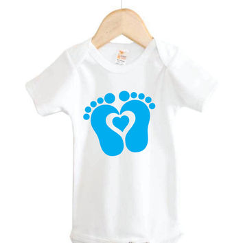Footprints Onesuit # baby footprints # baby Onesuits # baby gifts