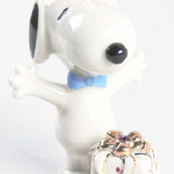 Lenox Snoopy Birthday Surprise June
