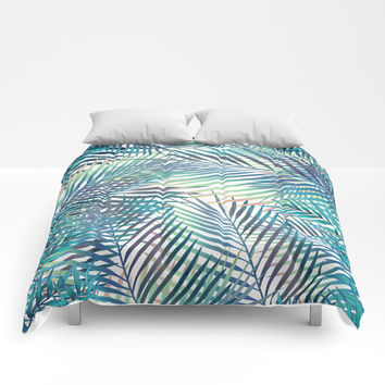 Tropical forest Comforters by printapix