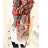 Nice Geometry Fashion Scarf