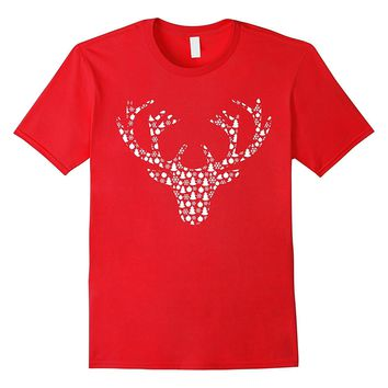 Reindeer Top for Christmas Red Nose Rudolph