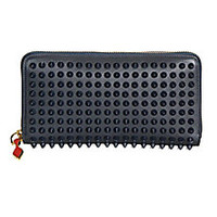 Christian Louboutin - Panettone Spiked Zip Wallet - Saks Fifth Avenue Mobile