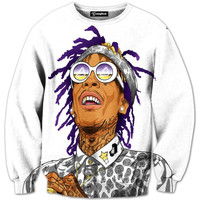 Wiz Khalifa Cartoon Crewneck