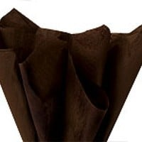 Espresso Brown Wrapping Tissue Paper - Tissue Wrap Paper & Cello Wrap