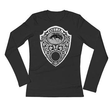 Ouija Planchette Ladies' Long Sleeve T-Shirt