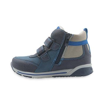 Boys Shoes New Spring Autumn Children's Shoes Patched Kids Shoes for Boys Pu Leather Sneakers for Boys