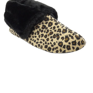 Charter Club Women's Memory Foam Microvelour Bootie Slippers