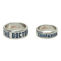 Doctor Who Companion Ring Set