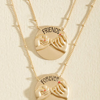 This I Pinky Promise You Necklace Set | Mod Retro Vintage Necklaces | ModCloth.com